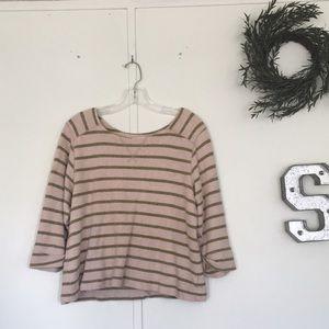 Coldwater Creek crop sweater